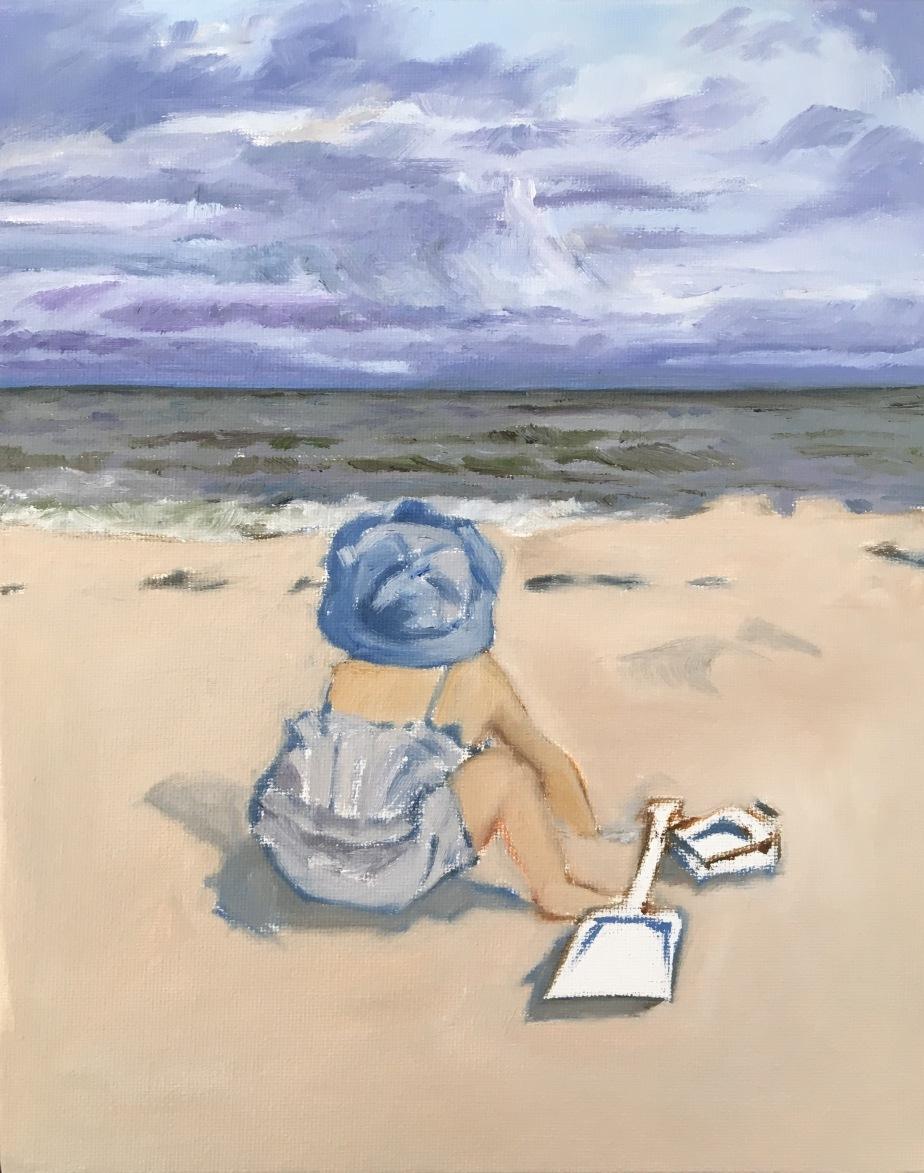 Beginning stages of beach Scene (4)